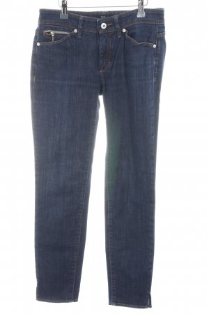 Hugo Boss Skinny Jeans blau-dunkelblau meliert Casual-Look