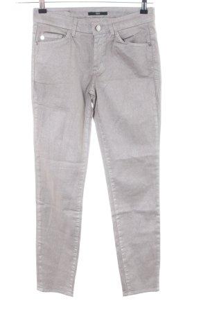 Hugo Boss Slim Jeans hellgrau Casual-Look