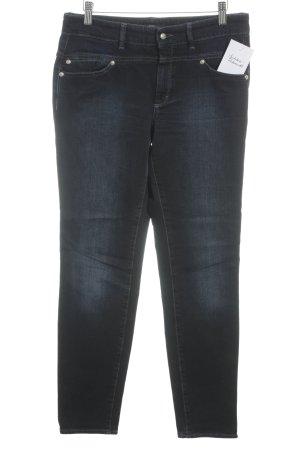 Hugo Boss Slim Jeans dunkelblau-goldfarben Casual-Look