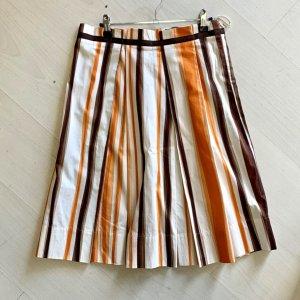 Hugo Boss Plaid Skirt multicolored cotton