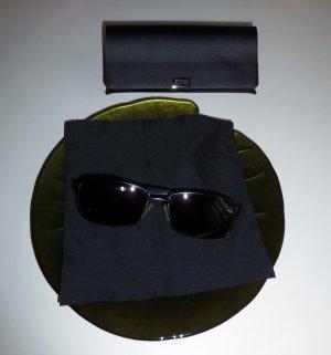 Hugo Boss Sonnenbrille 0475/S V81 P9 dunkel ruthenium schwarz grau - neuwertig