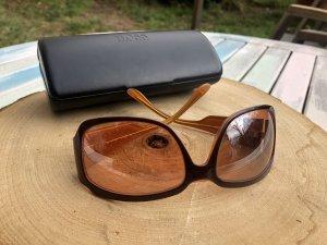 Hugo Boss Gafas de sol ovaladas naranja-rojo amarronado