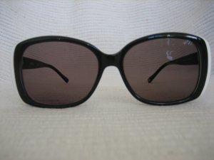 Hugo Boss Hoekige zonnebril zwart-wit