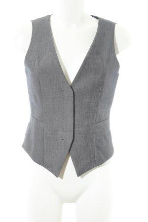 Hugo Boss Steppweste grau-graublau meliert Business-Look
