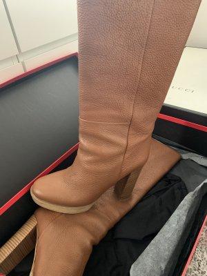 Hugo Boss High Heel Boots brown