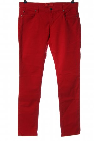 Hugo Boss Stoffhose rot Casual-Look
