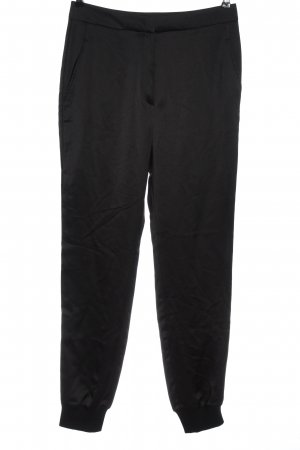 Hugo Boss Pantalon en jersey noir style décontracté