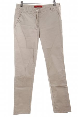 Hugo Boss Stoffhose creme Business-Look