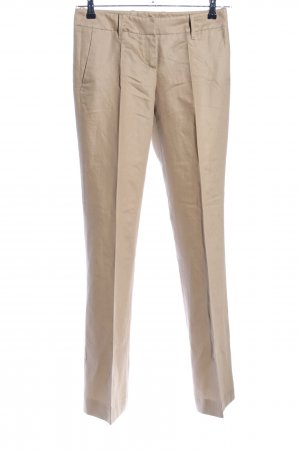 Hugo Boss Stoffhose creme Casual-Look