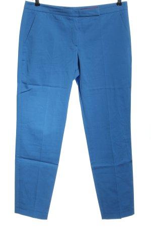 Hugo Boss Stoffhose blau Casual-Look