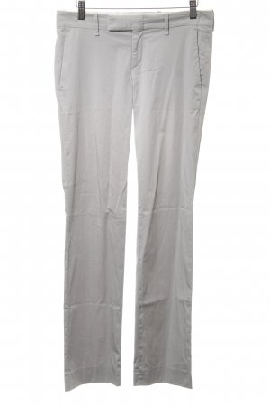 Hugo Boss Stoffhose hellgrau Casual-Look