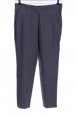 Hugo Boss Stoffhose blau Allover-Druck Business-Look
