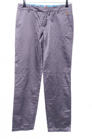 Hugo Boss Stoffhose lila Casual-Look