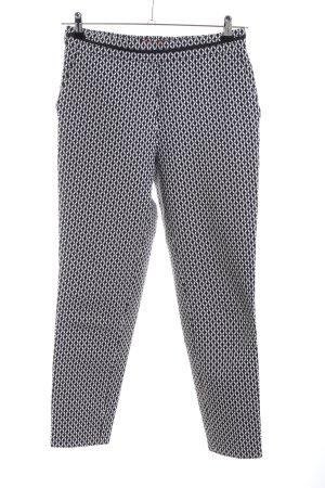 Hugo Boss Spodnie materiałowe czarny-biały