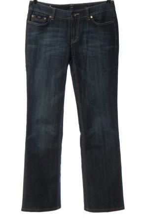 Hugo Boss Jeans coupe-droite bleu style décontracté