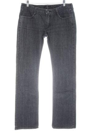 Hugo Boss Straight-Leg Jeans silberfarben Casual-Look