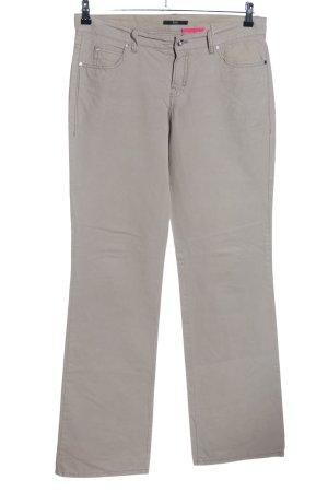 Hugo Boss Straight-Leg Jeans hellgrau Casual-Look