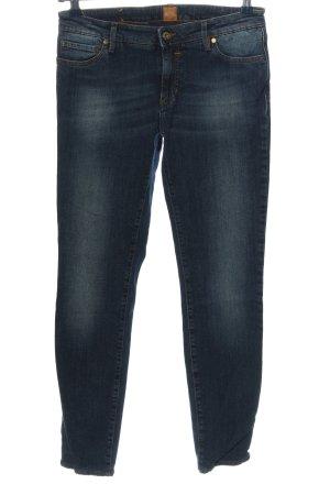 Hugo Boss Stretch Jeans blau Casual-Look