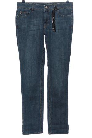 Hugo Boss Jeansy z prostymi nogawkami niebieski W stylu casual