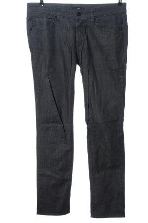 Hugo Boss Jeansy z prostymi nogawkami niebieski Wzór w paski W stylu casual