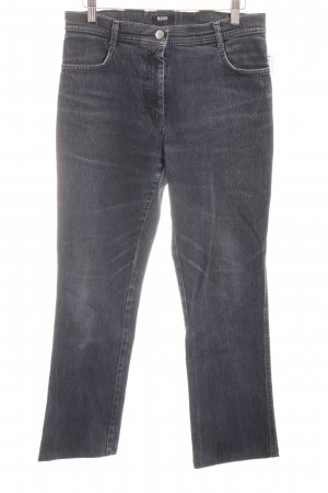 Hugo Boss Straight-Leg Jeans dunkelblau Casual-Look