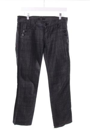 Hugo Boss Straight-Leg Jeans schwarz