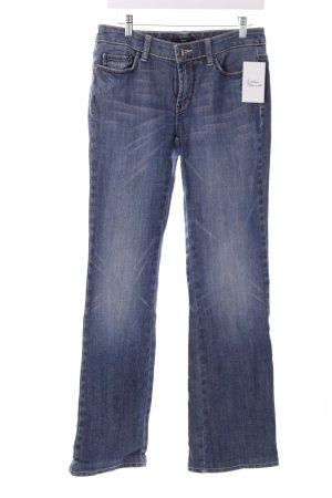 Hugo Boss Straight-Leg Jeans stahlblau Casual-Look