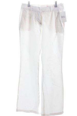 Hugo Boss Stretch Trousers white