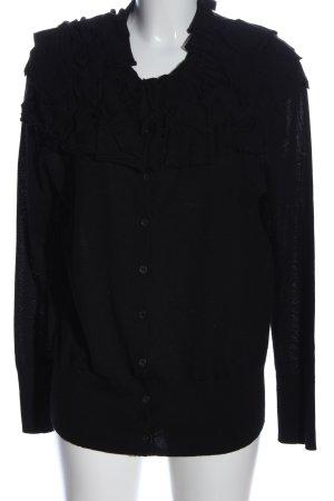 Hugo Boss Cardigan tricotés noir style décontracté