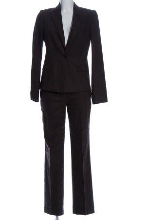Hugo Boss Strick Twin Set braun Business-Look