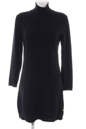 Hugo Boss Gebreide jurk zwart elegant