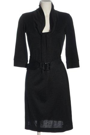 Hugo Boss Vestido tejido negro estilo «business»