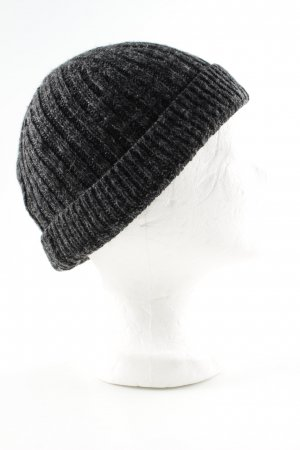 Hugo Boss Knitted Hat light grey flecked casual look