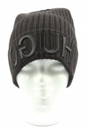 Hugo Boss Knitted Hat black casual look