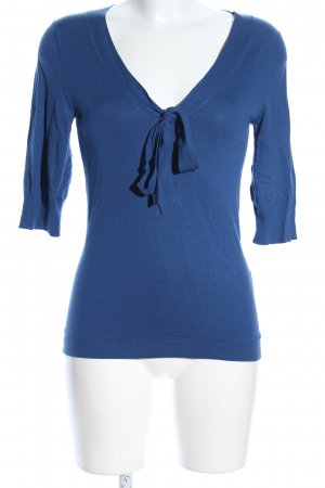 Hugo Boss Strickpullover blau Casual-Look