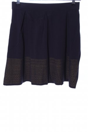 Hugo Boss Strickrock khaki-blau Casual-Look