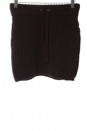 Hugo Boss Knitted Skirt blackberry-red-black flecked casual look