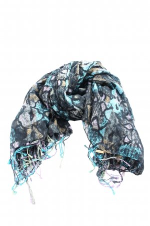 Hugo Boss Knitted Scarf abstract pattern casual look