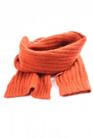 Hugo Boss Sciarpa lavorata a maglia arancione chiaro stile casual