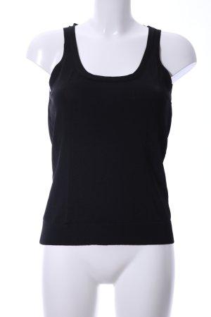 Hugo Boss Gebreid shirt zwart casual uitstraling
