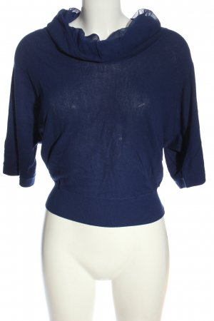 Hugo Boss Strickshirt blau Casual-Look