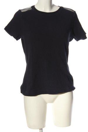 Hugo Boss Strickshirt schwarz Casual-Look