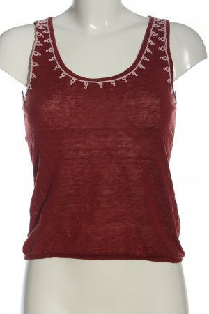 Hugo Boss Knitted Top red-pink flecked casual look
