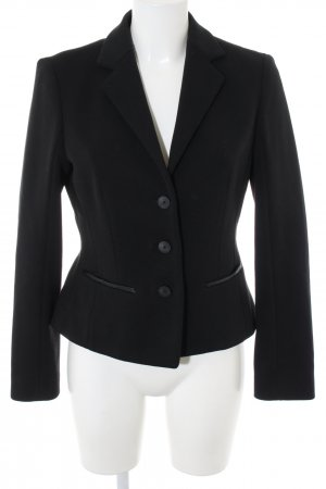 Hugo Boss Sweatblazer schwarz Business-Look