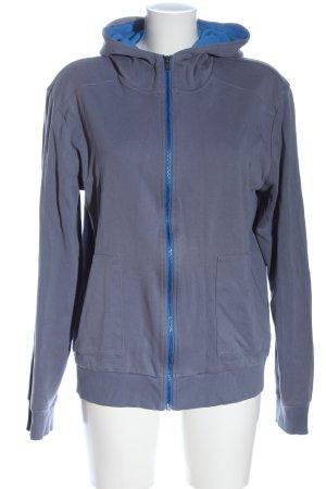 Hugo Boss Sweatjacke blau Casual-Look