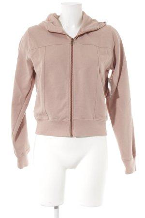 Hugo Boss Sweatjacke roségoldfarben sportlicher Stil
