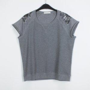 Hugo Boss Sweatshirt Gr. M grau bestickt (19/04/002/K)