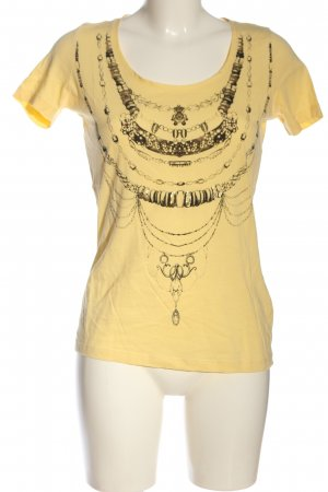 Hugo Boss Camiseta amarillo pálido-negro look casual