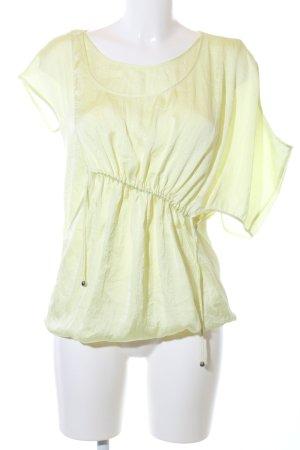 Hugo Boss T-shirt jaune primevère style décontracté