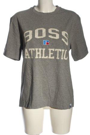 "Hugo Boss T-Shirt ""BOSS x Russell Athletic"" hellgrau"